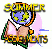 WPHS Summer Assignments