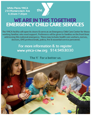 Covid19 YMCS Child Care