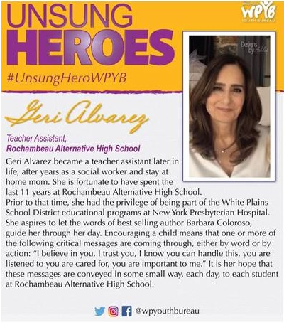 Geri Alvarez - Our Unsung Hero!!