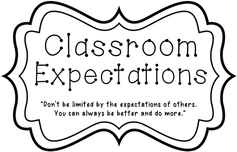 Classroom Expections
