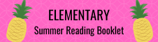 Elementary Summer Reading Booklet
