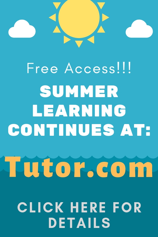 Tutor.com Summer Access