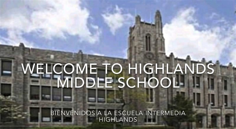 Highlands Virtual Transition Tour for Incoming  7th Graders