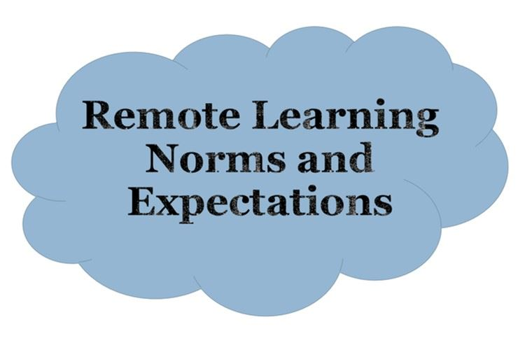Remote Learning Norms and Expectations Fall 2020