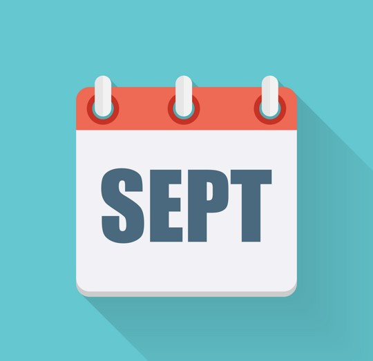 Important September Dates