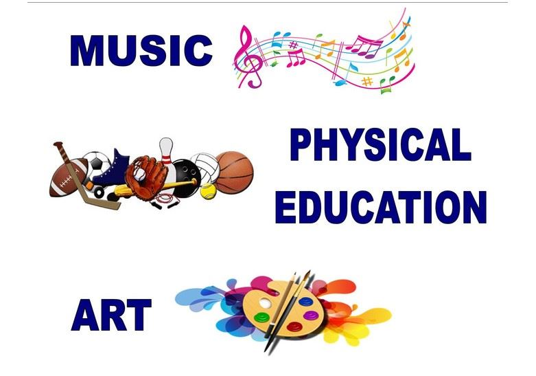 Specials: Art - Gym - Music - Instrumental Websites