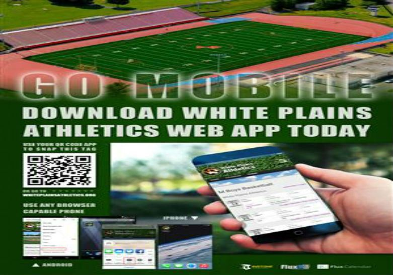 WHITE PLAINS ATHLETICS WEB APP & SCHEDULES