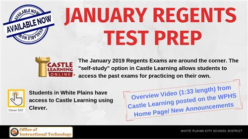 January Regents Test Prep (click for details)