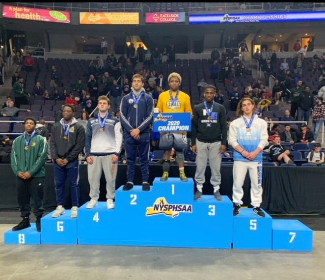 CONGRATULATIONS, Sebastian Garibaldi placed 5th in all of New York State at 220 pounds and earned All-State honors as a Junior! It is the first time White Plains has had an All-State Wrestler since 1991, almost 30 years ago!